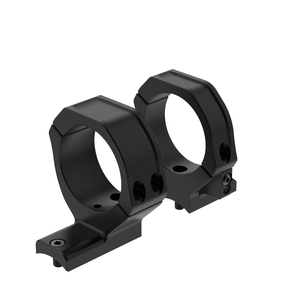GW Unity 20 MOA Scope Ring Set 35mm Rear Med LA