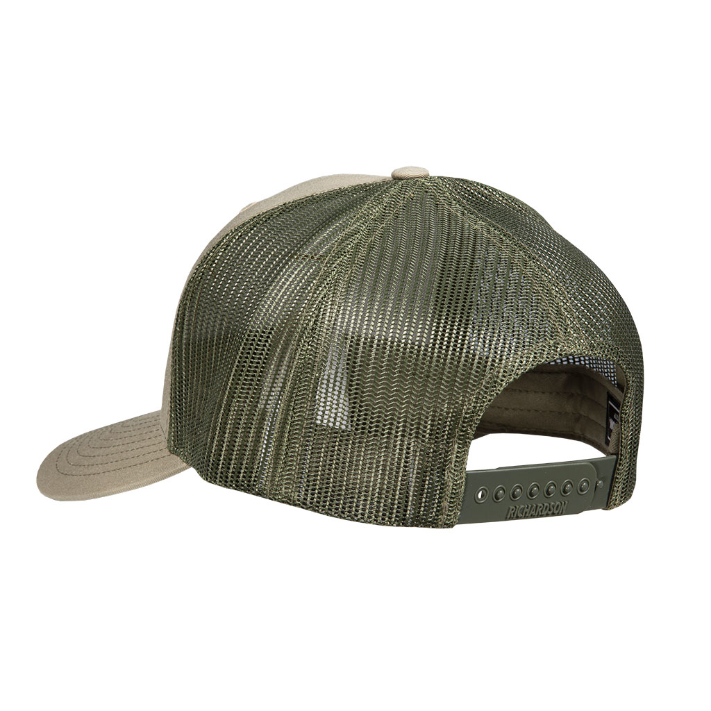 Gunwerks Pale Khaki / Loden Hat with Flag Patch