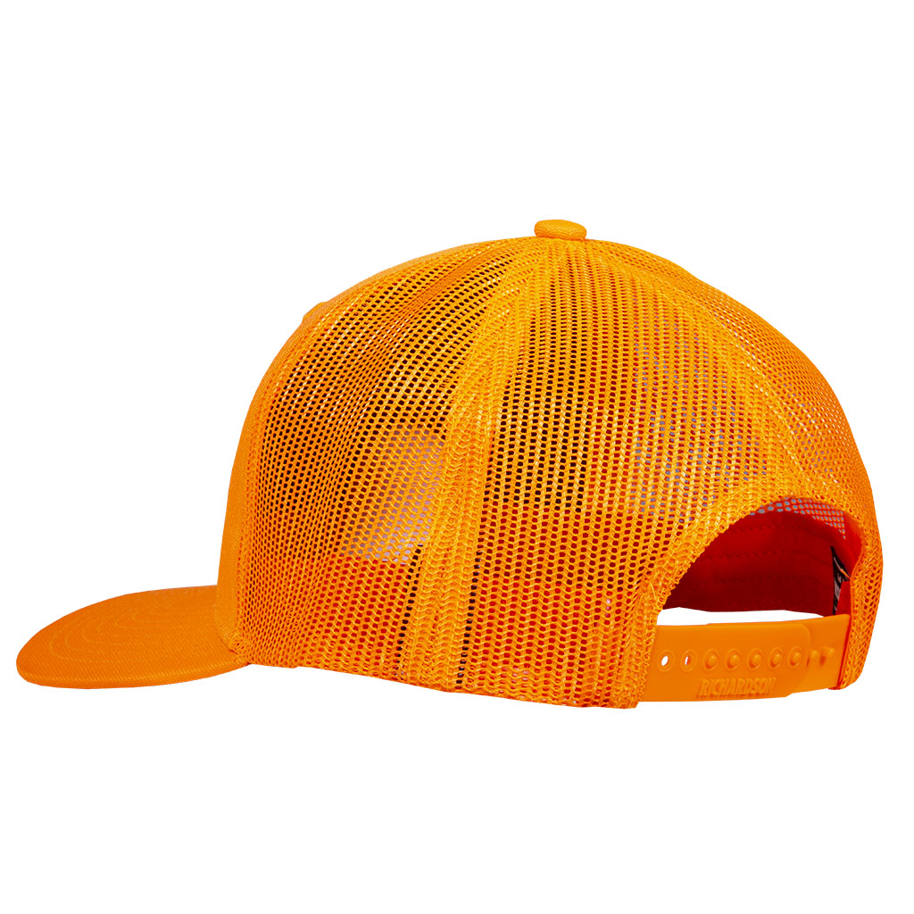 Gunwerks Blaze Orange Hat with Embroidered Patch - Back