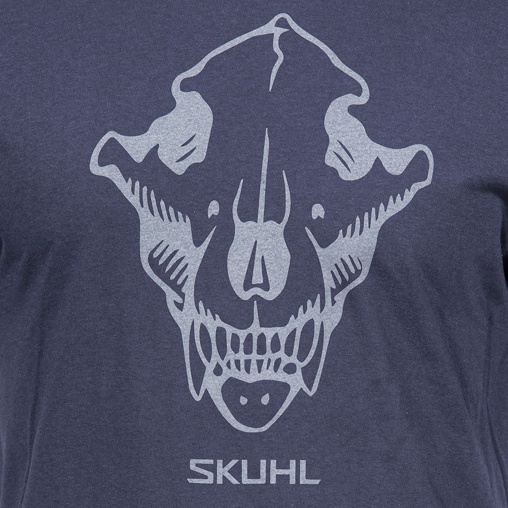 Gunwerks Skuhl T-Shirt in Classic Navy - Graphic