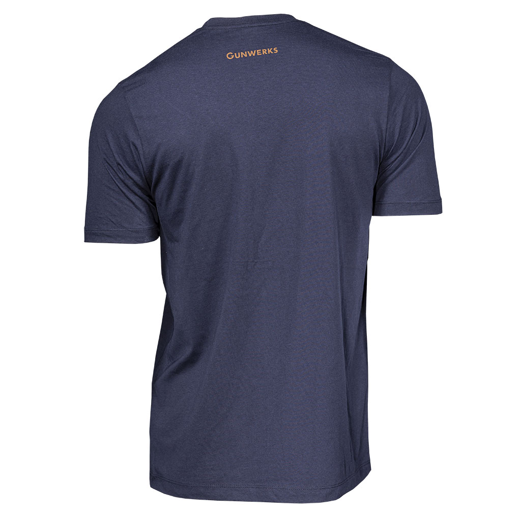 Gunwerks Skuhl T-Shirt in Classic Navy - Back
