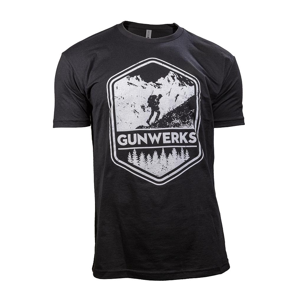 [PD-K1330] Gunwerks Sheep Hunter T-Shirt in Black (Small)